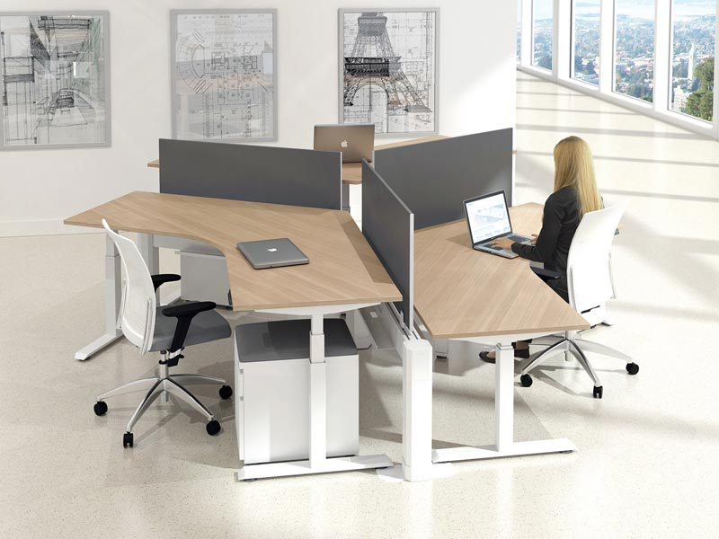 AMQ Active Pro Height Adjustable Desk