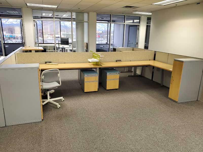 Used Office Furniture Cubicle Desks